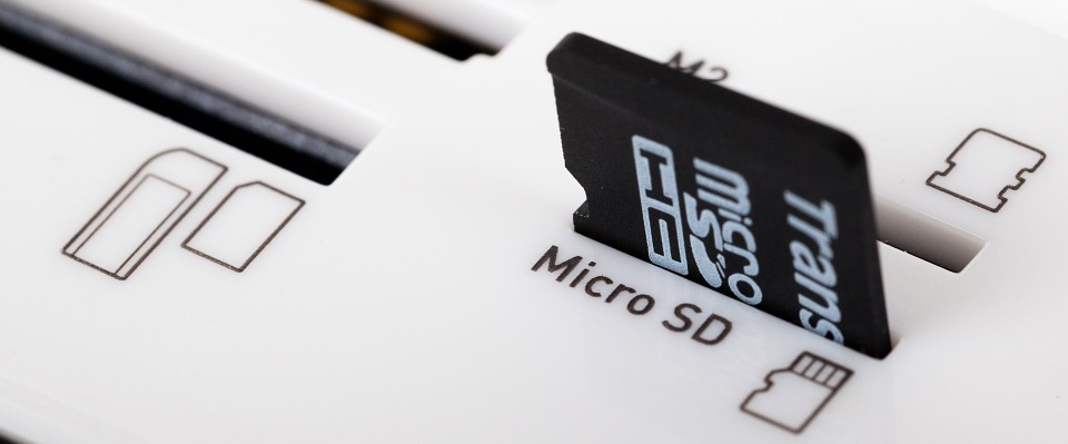Connect microSD to Slot